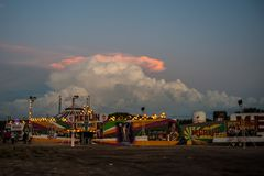 Circus. A circus tend in a little town from Buenos Aires Royalty Free Stock Photo