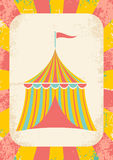 Circus tent. Illustration of a circus tent on a bright background vector illustration