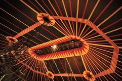 Circus tent. Top of a circus tent Stock Photo
