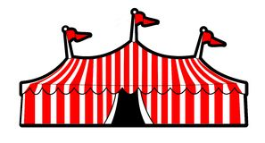 Circus tent Stock Images