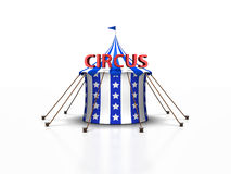 Circus Tent in blue Stock Photography