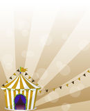 A circus tent at the carnival Stock Photos