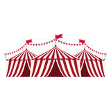 Circus tent festival Stock Image