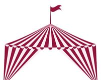 Circus tent icon. Circus and carnival design. Vector graphic. Eps 10 Royalty Free Stock Photography