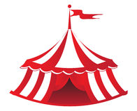Circus Tent. An illustration of a circus tent Royalty Free Stock Image