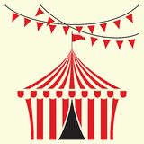 Circus tent  illustration Stock Image