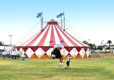 Circus Tent. A circus tent at the Mildura Show, Australia Royalty Free Stock Image