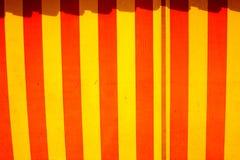 Circus Tent Pattern. A circus tent pattern on a cloth texture Royalty Free Stock Photos