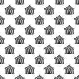 Circus tent seamless pattern Royalty Free Stock Photo