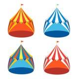 Circus Tent Set. Vector Royalty Free Stock Photos