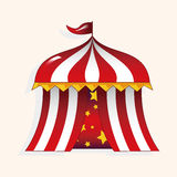 Circus tent theme elements vector,eps. Vector illustration file Royalty Free Stock Images