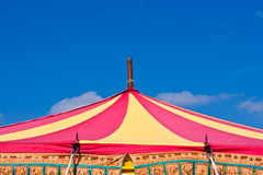 Circus tent top Royalty Free Stock Image