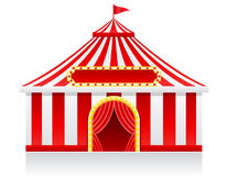 Circus tent vector illustration Royalty Free Stock Photos