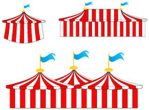Circus tents Royalty Free Stock Photo