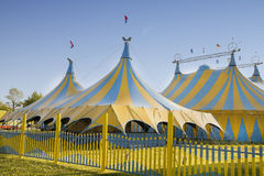 Circus tents Stock Image
