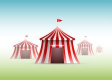 Circus Tents royalty free illustration