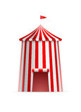 Circus Tower Tent royalty free illustration