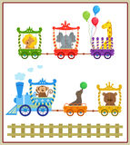 Circus Train Royalty Free Stock Photos