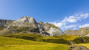 The Circus of Troumouse - Pyrenees Mountains Stock Photography