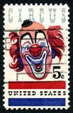 Circus USA Postage Stamp Royalty Free Stock Photography