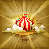 Circus,  vector background Royalty Free Stock Photography