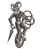 Circus Vector Logo Design Template. Clown Or Stock Images