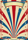 Circus vintage poster stock illustration