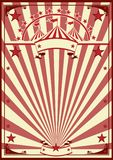 Circus retro poster. A circus vintage poster for your advertising Royalty Free Stock Photos