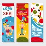 Circusbanners Royalty-vrije Stock Afbeelding