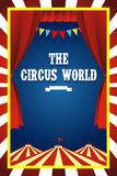 Circusbrochure Royalty-vrije Stock Foto