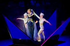 Circuskunstenaars Royalty-vrije Stock Afbeelding