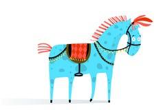 Circuspaard royalty-vrije illustratie