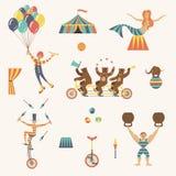 Circusreeks Royalty-vrije Stock Fotografie