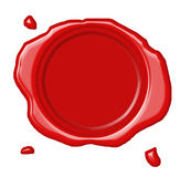 cire de sceau Image stock