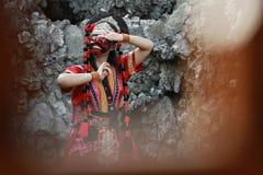 Cirebon del topeng de Tari Foto de archivo