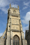Cirencester Cathedral, England. Cirencester Cathedral, Gloucester, England on a summer day Stock Images