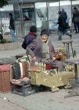 Cireur de chaussures dans Stambul photos stock
