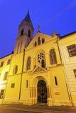 Cirila ι εκκλησία Metoda στο Ζάγκρεμπ Στοκ Φωτογραφίες