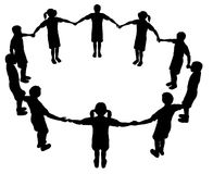 Cirkel 2 van kinderen Stock Foto