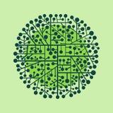 Cirkel Royalty-vrije Stock Afbeeldingen