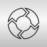 cirkel Arkivfoto