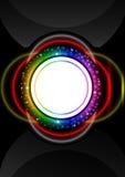 Cirkel abstrac tbackground Royalty-vrije Stock Afbeeldingen