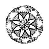 Cirkel arabesque, vectorillustratie Royalty-vrije Stock Foto's
