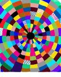 Cirkel av färg royaltyfri foto