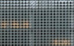 Cirkel av fasaden Arkivfoton