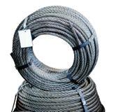 Cirkel av kabel för stålmetalllast Arkivbilder
