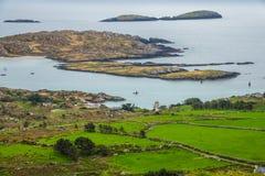 Cirkel av Kerry Landscape arkivfoton