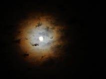 Cirkel av månen Arkivfoton