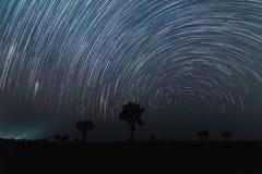 Cirkel av stjärnan Fotografering för Bildbyråer
