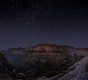Cirkel av stjärnor Fotografering för Bildbyråer